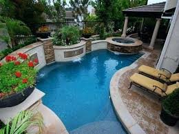 Pool Ideas For A Small Backyard Small Inground Pool Sizes In Small Backyards Awesome Home Design