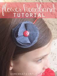 fabric headbands fabric flower headbands