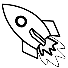 rocket coloring page snapsite me