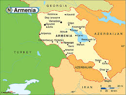 armenia on world map armenia political map by maps from maps world s largest