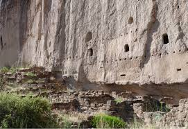 New Mexico State Parks Map by Bandelier National Monument Wikipedia