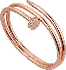 cartier bracelet images Crn6708417 juste un clou bracelet pink gold diamonds cartier png