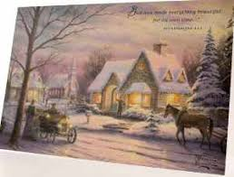 kinkade cards kincade greeting card boxed