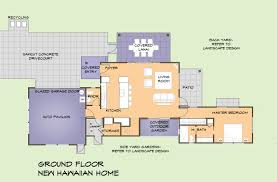 hawaiian plantation homes floor plans