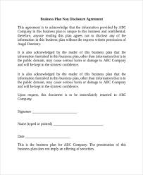sample non disclosure agreement 19 documents in pdf