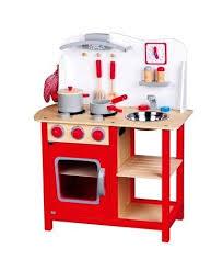 cuisine jouet cuisine jouet en bois bon appé cuisinière pour enfant h 78 cm