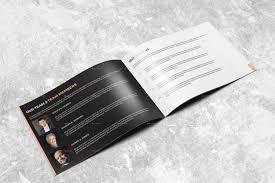 landscape annual report 2015 i indesign template by arnabkumar
