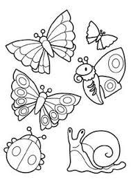 96 dessins de coloriage Insectes Maternelle à imprimer