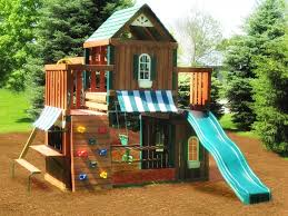 Kids Backyard Swing Set 16 Best Wood Outdoor Playsets Images On Pinterest Play Sets