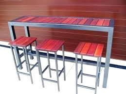 Patio Bar Table Outdoor Pub Table Set Ipbworks