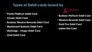 Titanium Business Cards Types Of Debit Cards