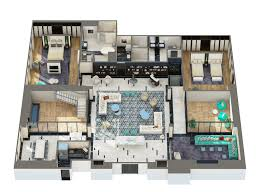 Luxury Penthouse Floor Plan by Hollywood Penthouse Suites London West Hollywood