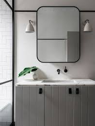 Black Mirror Bathroom Best 25 Black Framed Mirror Ideas On Pinterest Diy Bathroom Black
