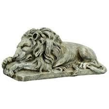 lion statues large outdoor lion statues wayfair
