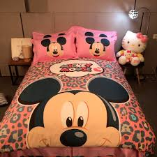 mickey mouse sheets for twin bed bedding queen
