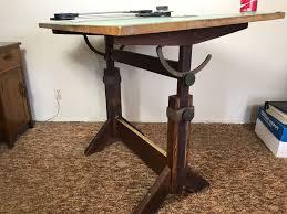 Custom Drafting Tables Vintage Custom Adjustable Drafting Table