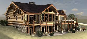 Hillside Home Plans Plan Details Wholesale House Plans Custom Log Homes