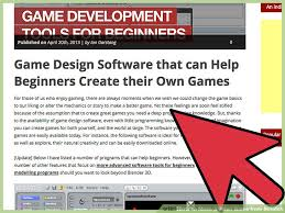 How To Make A Video Resume Script How To Make A Video Game From Scratch With Pictures Wikihow