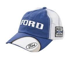 Ford F150 Truck Hats - ford truck f150 f250 f350 built ford tough blue u0026 white mesh