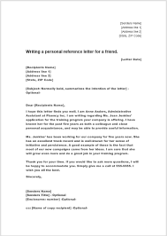 38 free sample personal character reference letters ms word