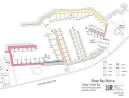 Map Of Door County Wi Marina Layout Map Sister Bay Marina