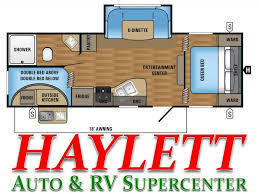 Jayco Travel Trailers Floor Plans by 2017 Jayco Jay Flight Slx 242bhsw Travel Trailer Coldwater Mi