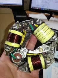 modern vespa gs 150 vs5 stator wire setup