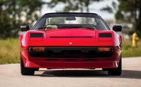 ferrari front ferrari 308 gts quattrovalvole with front spoiler 1982 us
