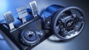 thrustmaster gt experience review e3 2017 thrustmaster t gt racing wheel is overly