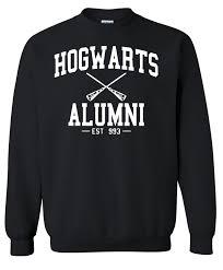 hogwarts alumni sweater hogwarts alumni harry potter crewneck sweatshirt clothing sweater
