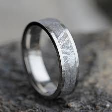 meteorite wedding band gibeon meteorite wedding band wedding anniversary ring
