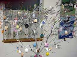 Glass Easter Tree Decorations by Easter Tree