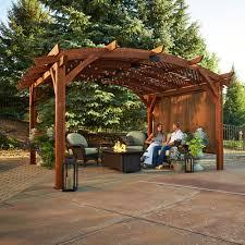 Wall Pergola Kits by 27 Best Backyard Pavilion Images On Pinterest Backyard Pavilion