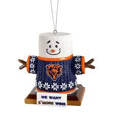 chicago bears smores ornament