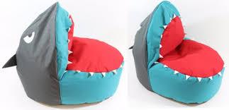 cool shark bean bag kids shark beanbag now 25 asda george ebizby