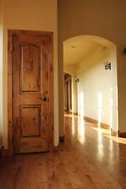 Interior Door Stain Knotty Alder Stile U0026 Rail Wood Interior Door With Flat Panels