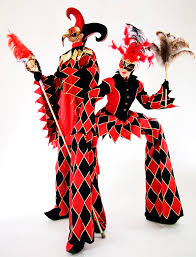 Stilt Costumes Halloween Jesters Stilt Costumes Stilt Costume Dancers
