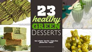 23 healthy green dessert recipes for st patrick u0027s day gluten free