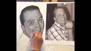 tableau portrait noir et blanc portrait de famille à huile noir et blanc video no 1 youtube