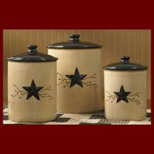 country star decorations home country star canister set dinnerware home country decor the 13th