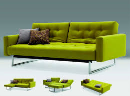 Sofa Beds Sectionals Lime Fabric Sofa Sleeper Mb 12 Sofa Beds