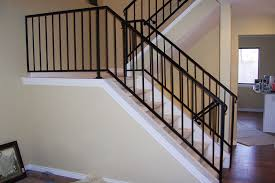 Stair Banister Installation Stairs Interesting Stairwell Railing Excellent Stairwell Railing