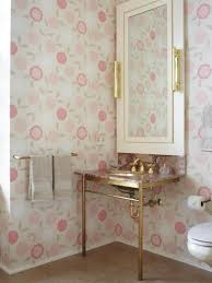 Wallpaper For Bathroom Ideas by Rooms Viewer Hgtv