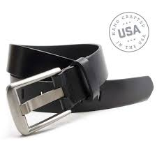 allergies to titanium nickel free belt set with titanium buckles leather