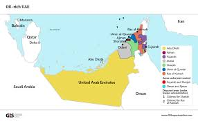 United Arab Emirates Map One Of The World U0027s Top Oil Producers Wants To Become A Leader In