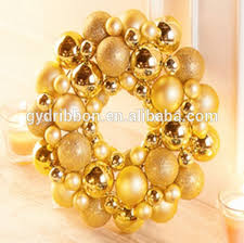 artificial christmas wreaths 2015 christmas wreaths with balls 45 cm decoration