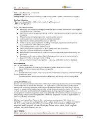 Job Resume Communication Skills Resume Samples For Jewelry Sales Associate Sample Sales Resume