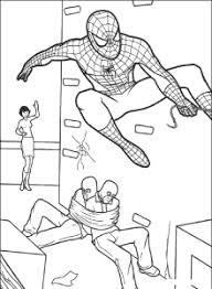 print u0026 download spiderman coloring pages enjoyable