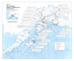 Cordova Alaska Map by Earthquakes