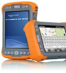 rugged handheld pc mapping gis mesa rugged notepad